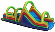 Obstacle Course Interactive Inflatable Rental